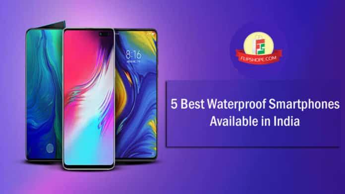 5 Best Waterproof phones in India