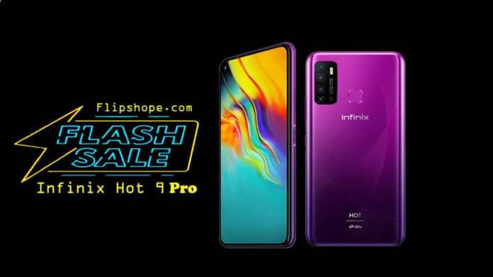 Infinix Hot 9 Pro Flash Sale Details
