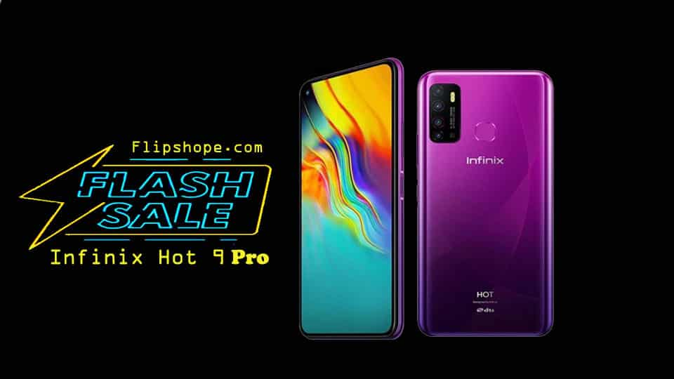 Infinix Hot 9 Pro Flash Sale Details