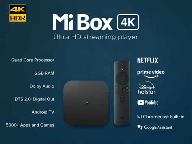 Mi Box specifications