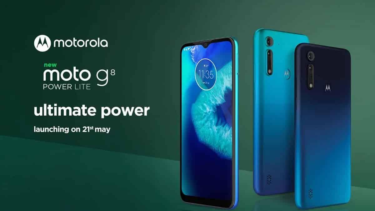 Motorola G8 Power Lite Launch 21 May