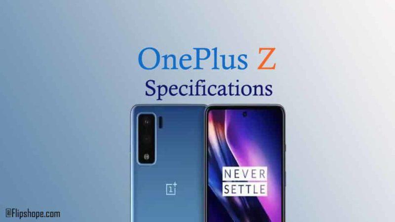 OnePlus Z specifications