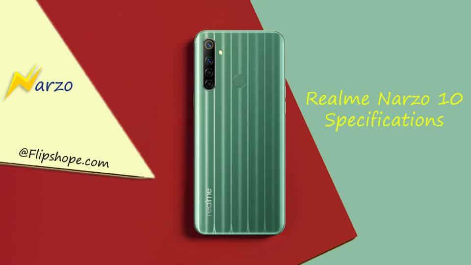 Realme Narzo 10 specifications
