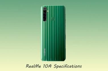 Realme Narzo 10A Specifications