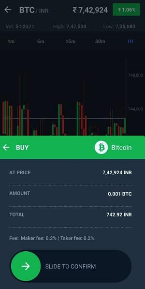 WaziX buy bitcoin in India