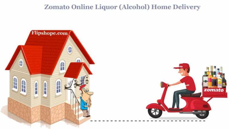 Zomato liquor (alcohol) home delivery
