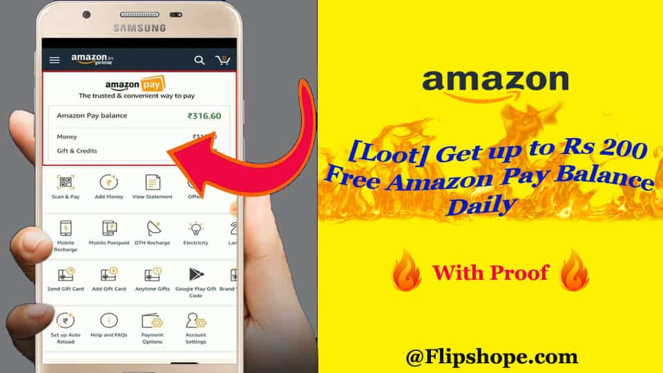 how to get free amazon pay balance
