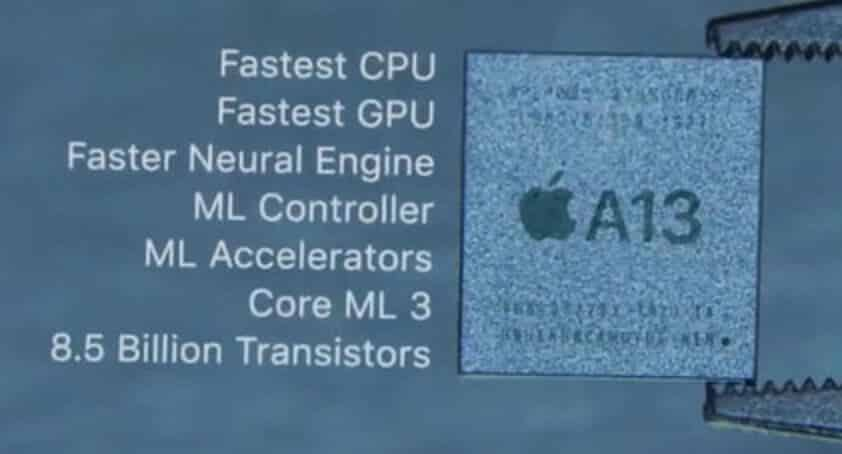 iPhone SE 2020 Processor