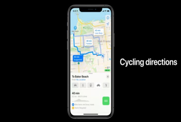 Apple iOS 14 Update Map
