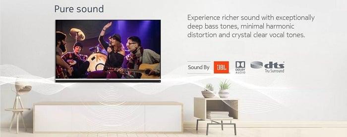 Nokia Smart TV 43-inch Audio