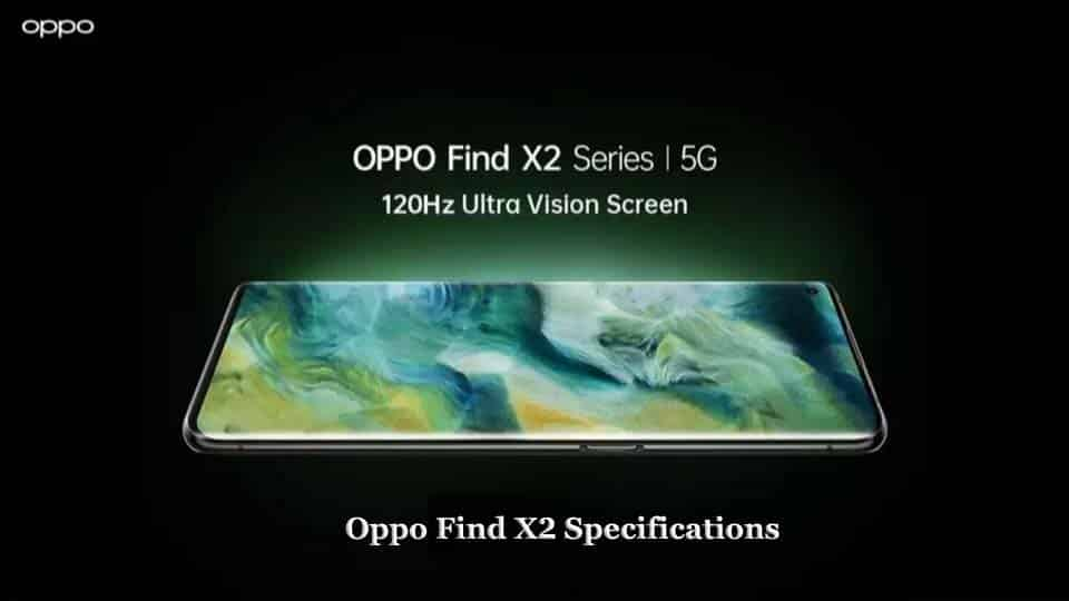 Oppo Find X2 specifications