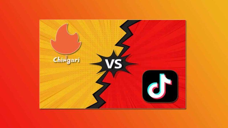 Chingari vs TikTok App