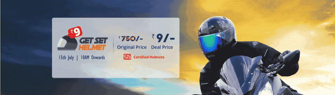 Droom 9rs helmet flash sale