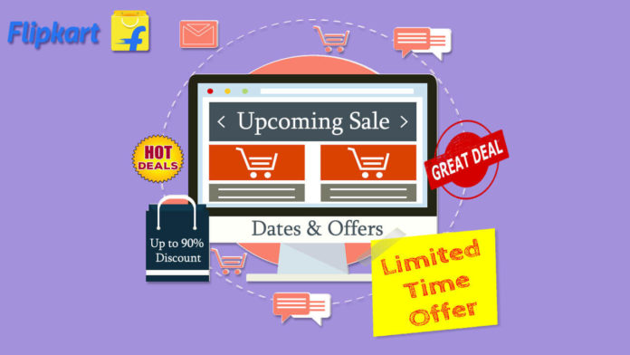 Flipkart upcoming sale dates and offers 2020