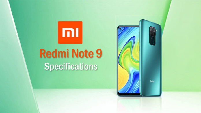 Redmi Note 9 specifications