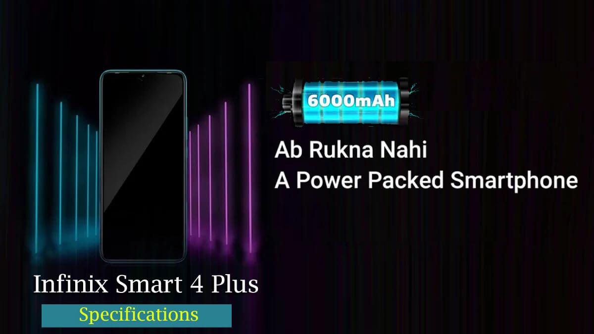 infinix smart 4 plus specifications
