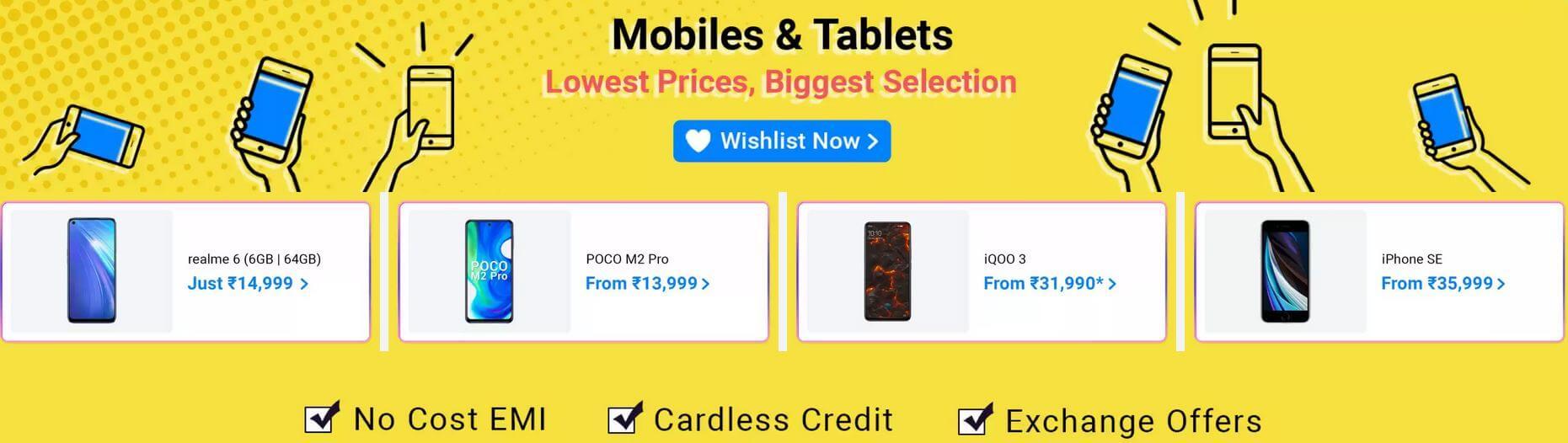 Flipkart Big Saving Days Sale offers on Mobiles