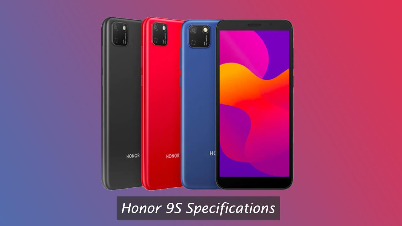 Honor 9S Specifications