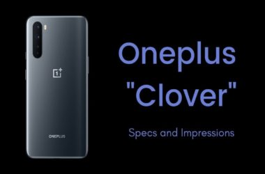 OnePlus Clover Specifications