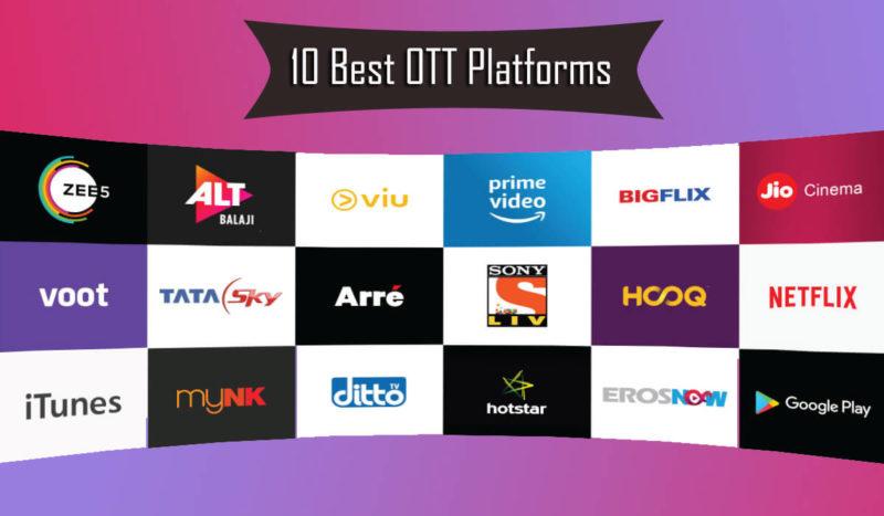 10 Best OTT Platforms in India