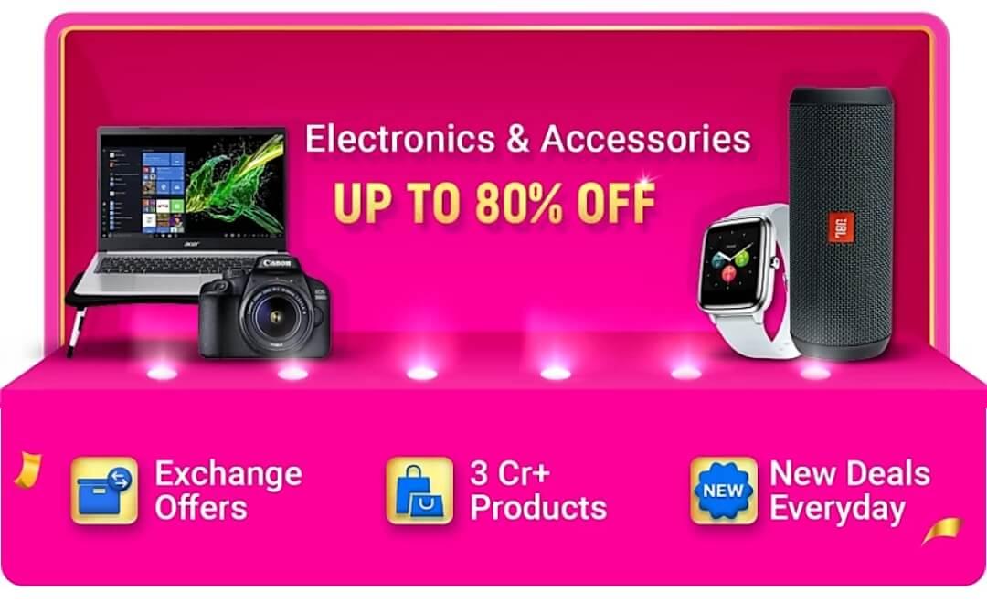 Flipkart Big Billion Days Electronics & Accessories
