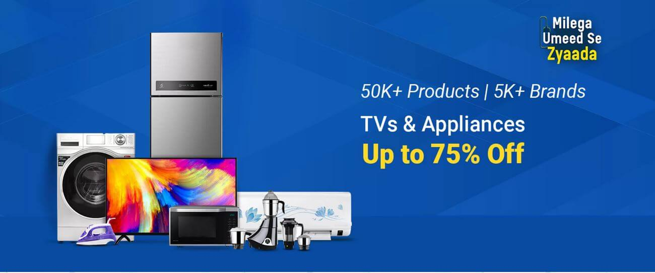 Flipkart Home Appliances Sale September 2020