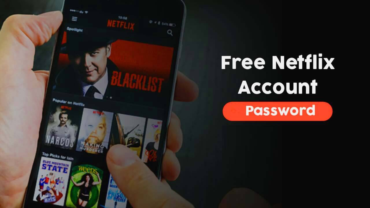 Netflix free account passwords