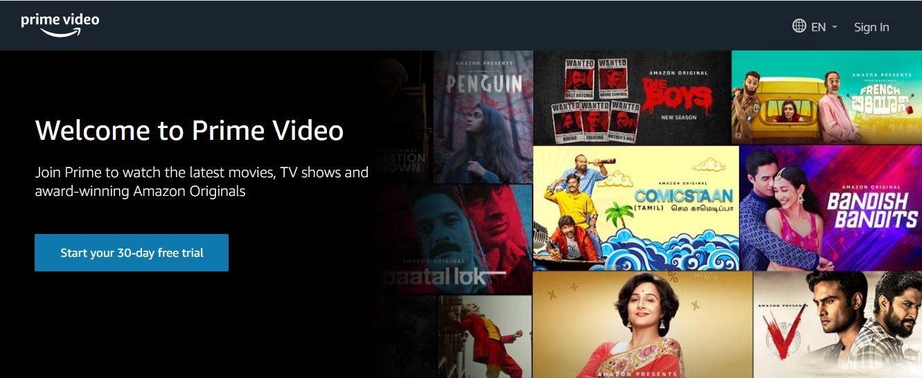 OTT Platforms : Amazon Prime Video