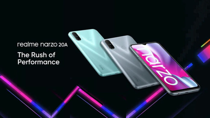 Realme Narzo 20A Specifications