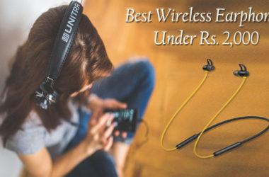 Best Wireless Earphones Under 2000 Rs