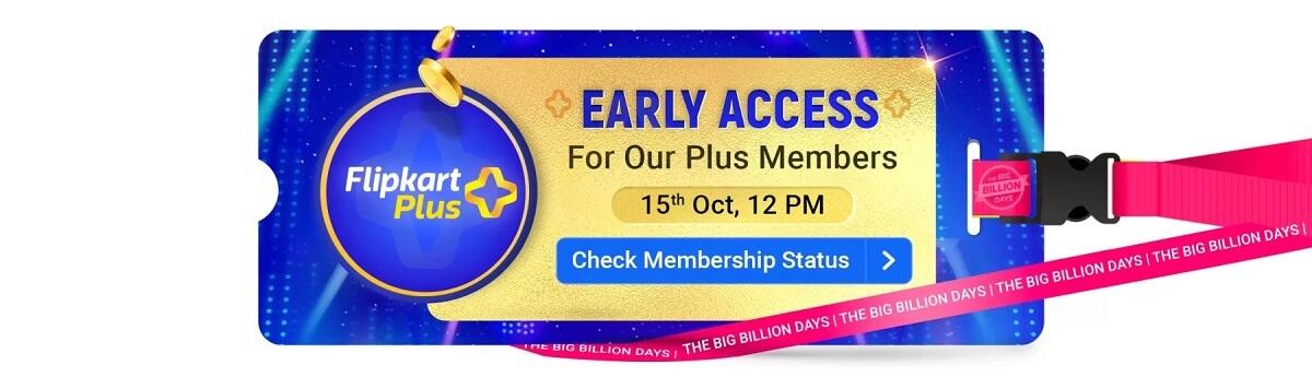 Flipkart Big Billion Day Sale Plus Members