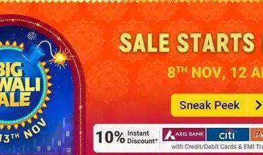 Flipkart Big Diwali Sale 8th November 2020