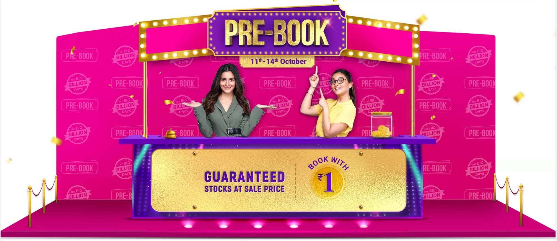 Flipkart Pre-Book Deals Big Billion Days