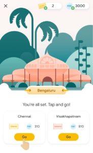 G-Pay Go India Game Chennai