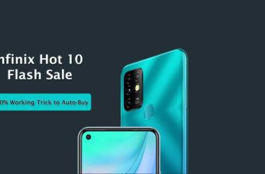 Infinix Hot 10 Flash Sale
