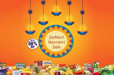 Jiomart navratri sale offers and deals