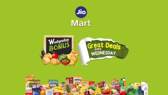 Jiomart wednesday offers and deals