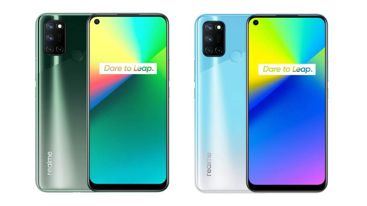 Realme 7i color options