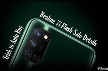 Realme 7i flash sale
