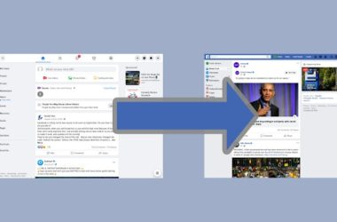 Old facebook layout converter Chrome extension
