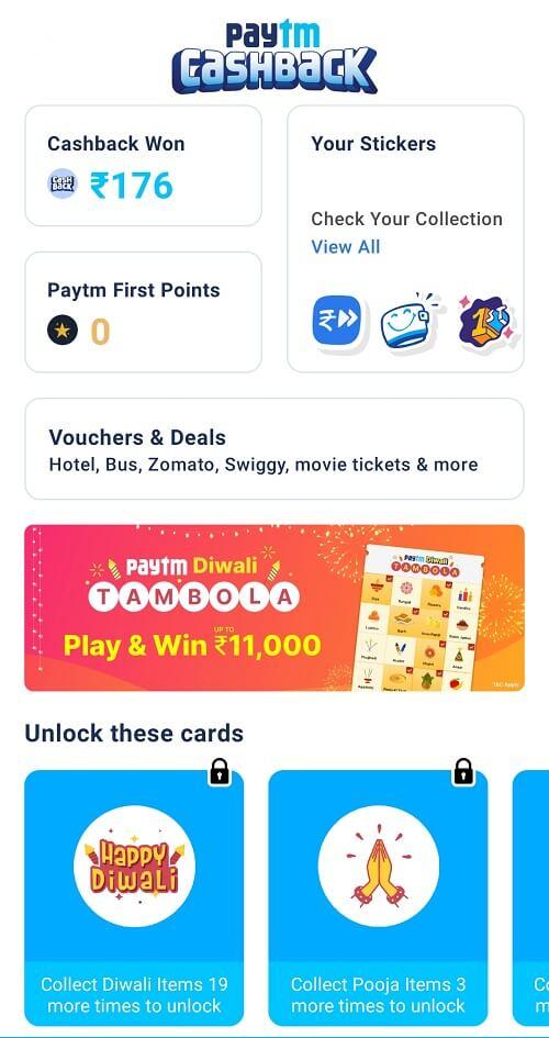 Paytm Tambola Tickets Free