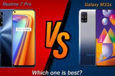 Realme 7 Pro vs Samsung Galaxy M31s Comparison