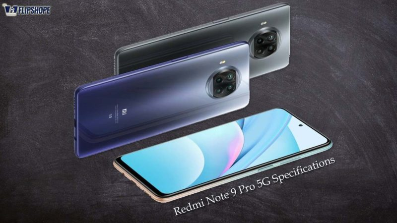 Redmi Note 9 Pro 5G Specifications