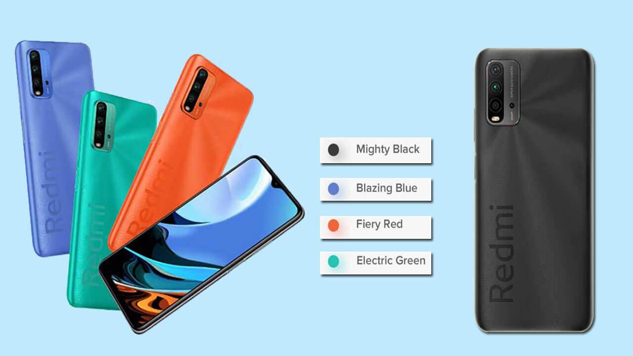 Xiaomi Redmi 9 Power Color Options