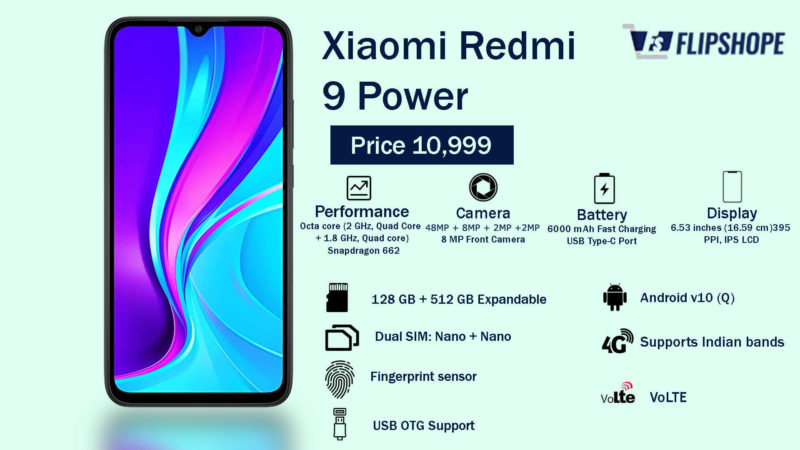 Xiaomi Redmi 9 Power Specifications