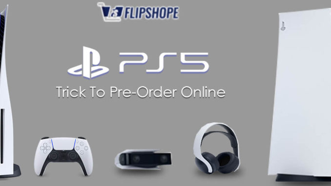 How to pre-order PS5 in India online
