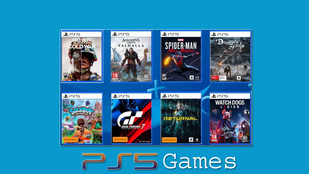 Playstation 5 Games