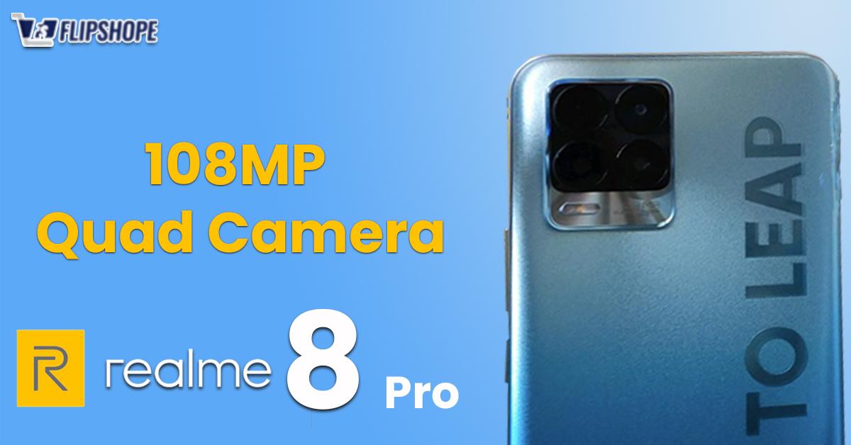 Realme 8 Pro Specs for Camera
