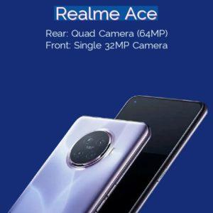 Realme Ace Camera Specs
