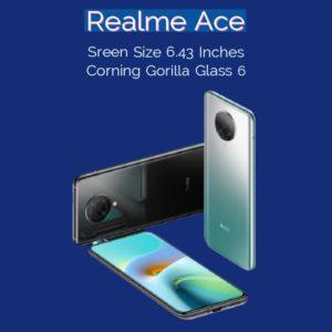 Realme Ace Display Specs